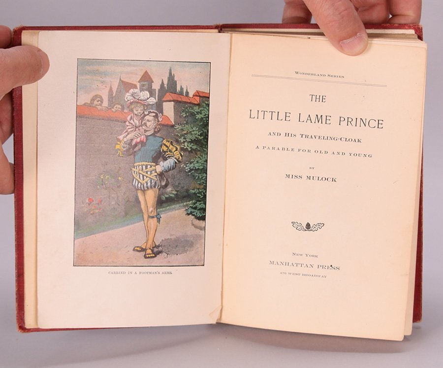 Antique Book: The Little Lame Prince - 3