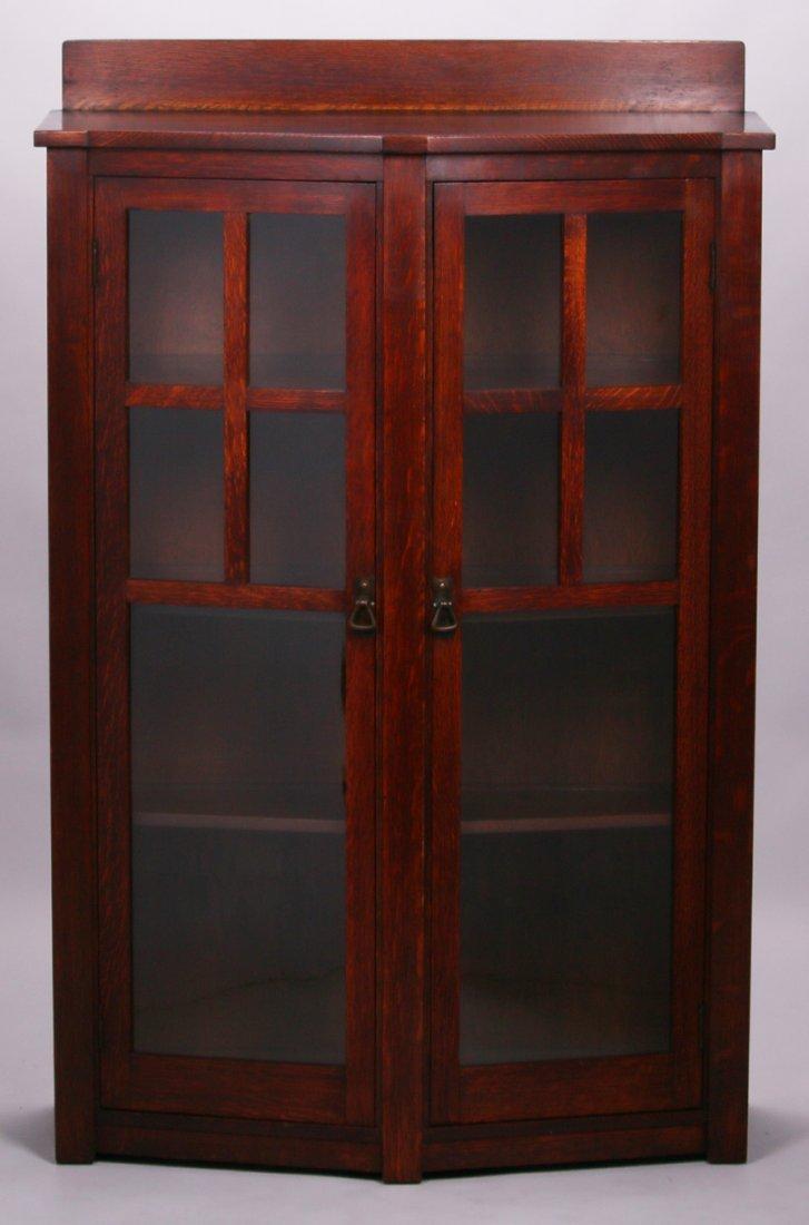 Limbert Trapezoidal-Shaped Two-Door China Cabinet