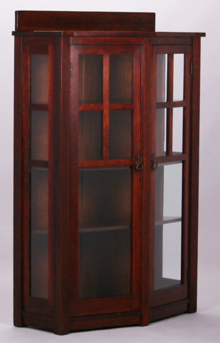 Limbert Trapezoidal-Shaped Two-Door China Cabinet - 2