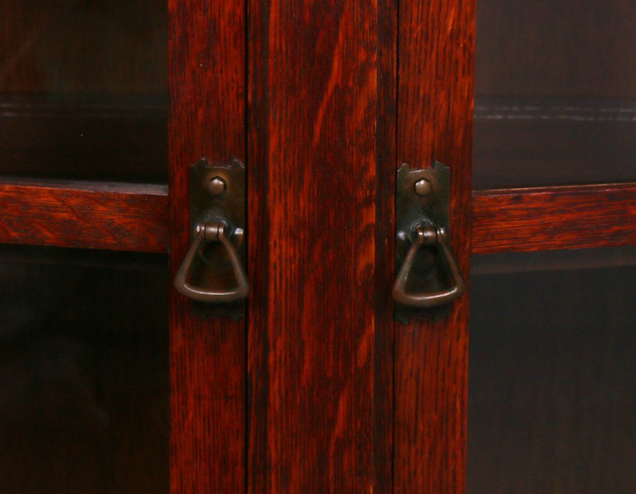 Limbert Trapezoidal-Shaped Two-Door China Cabinet - 4