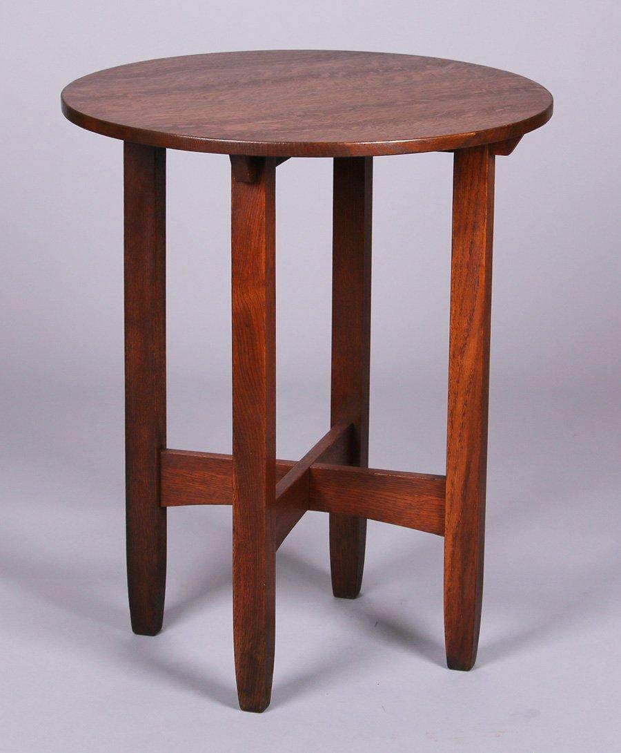 "Limbert 24""d Lamp Table"