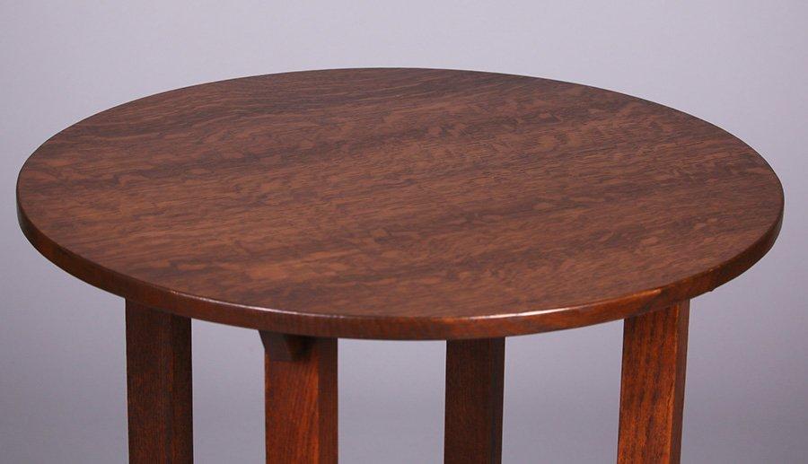 "Limbert 24""d Lamp Table - 2"