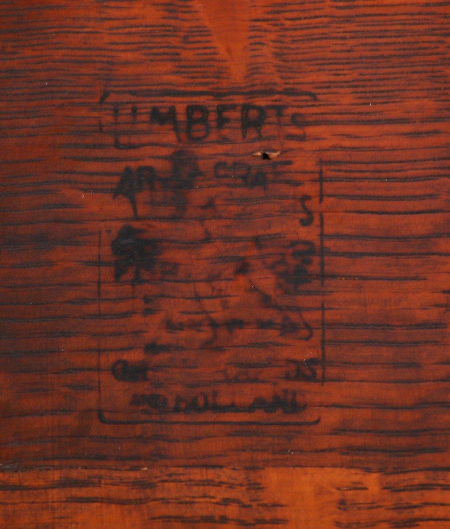 "Limbert 24""d Lamp Table - 3"