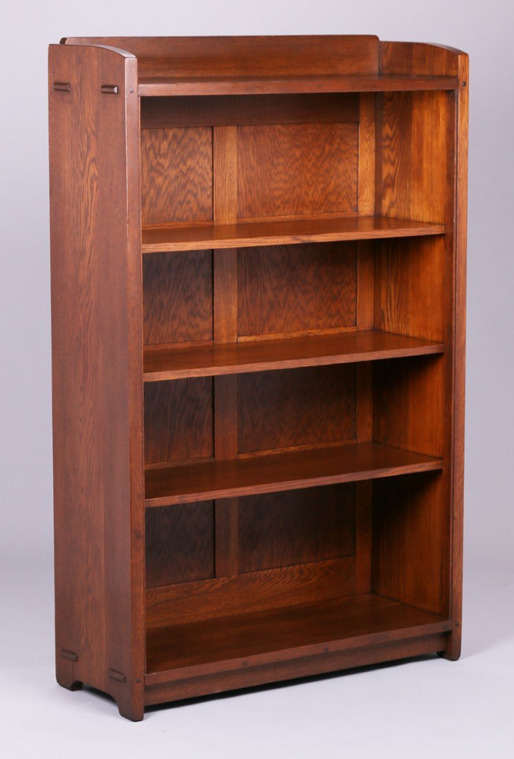 Gustav Stickley Open Bookcase