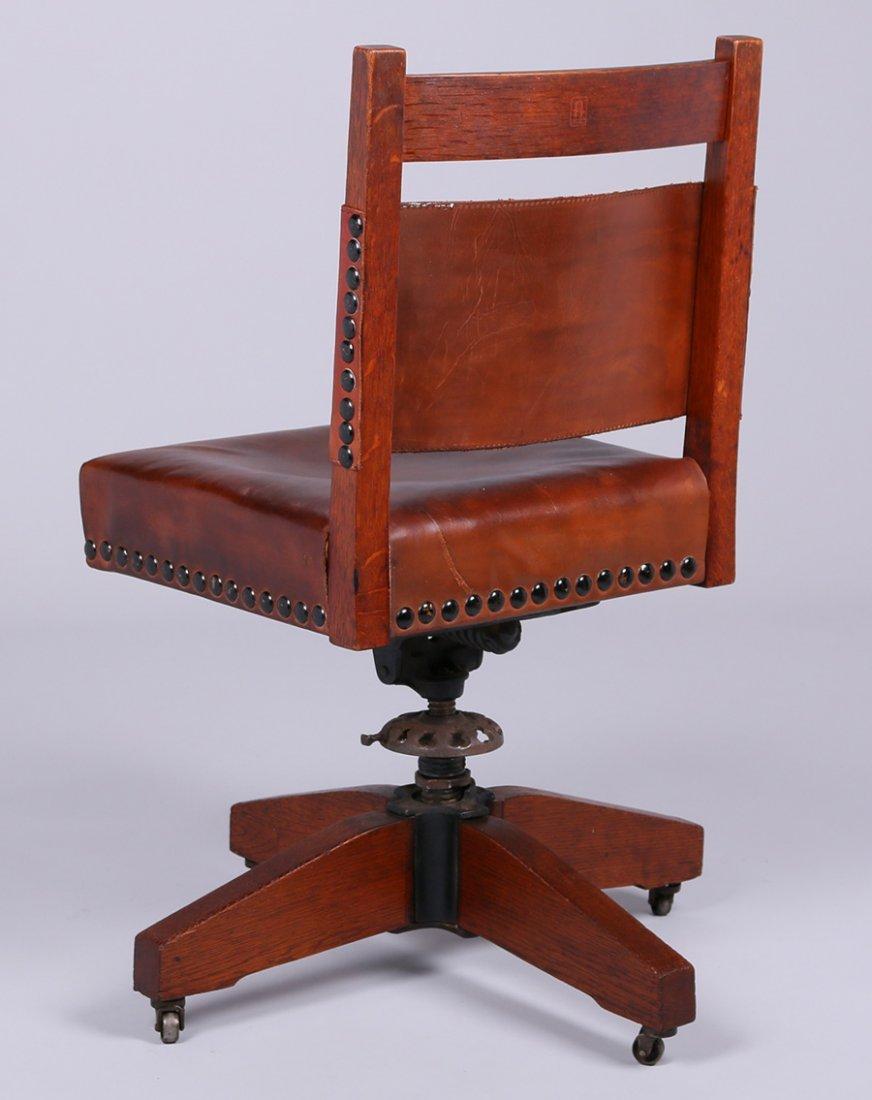 Gustav Stickley Swivel Chair - 2