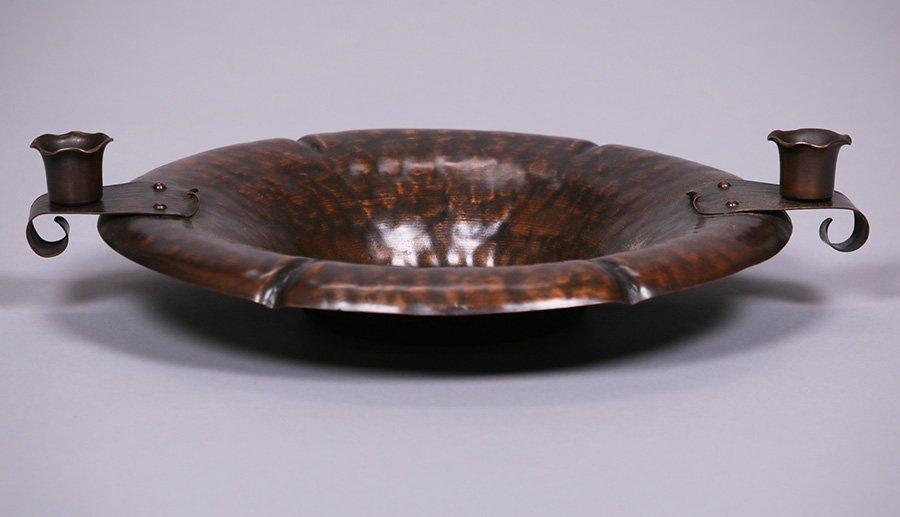 Craftsman Studios Hammered Copper Bowl - 2