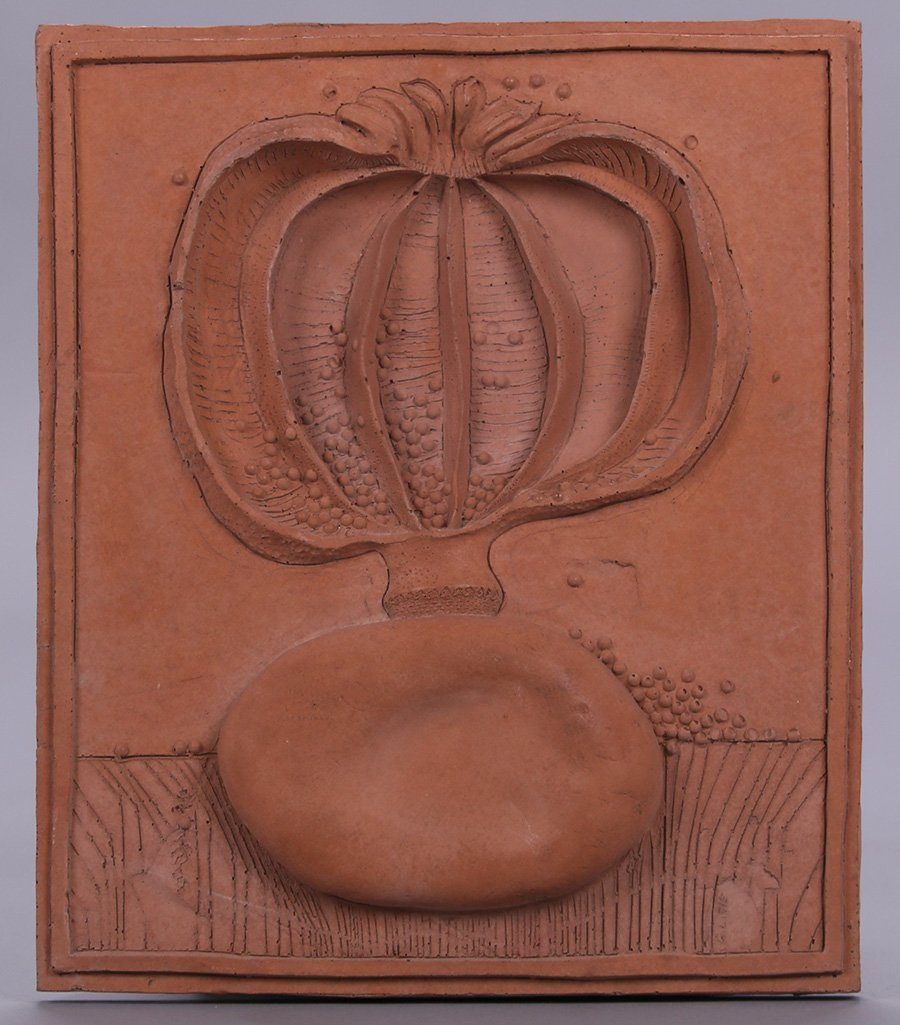 "Modernist Clay Tile ""Earth"""