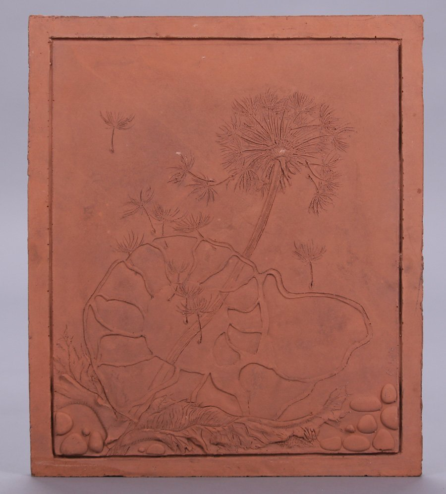"Modernist Clay Tile ""Air"""
