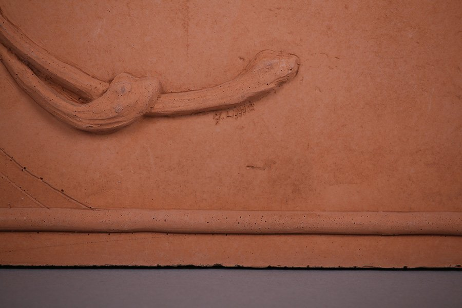 """Modernist Clay Tile """"Fall"""" - 2"""