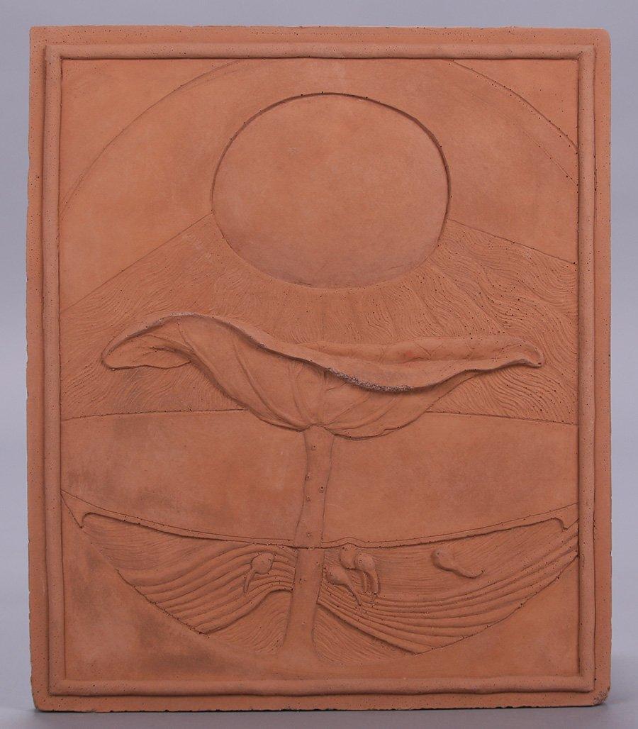 "Modernist Clay Tile ""Summer"""