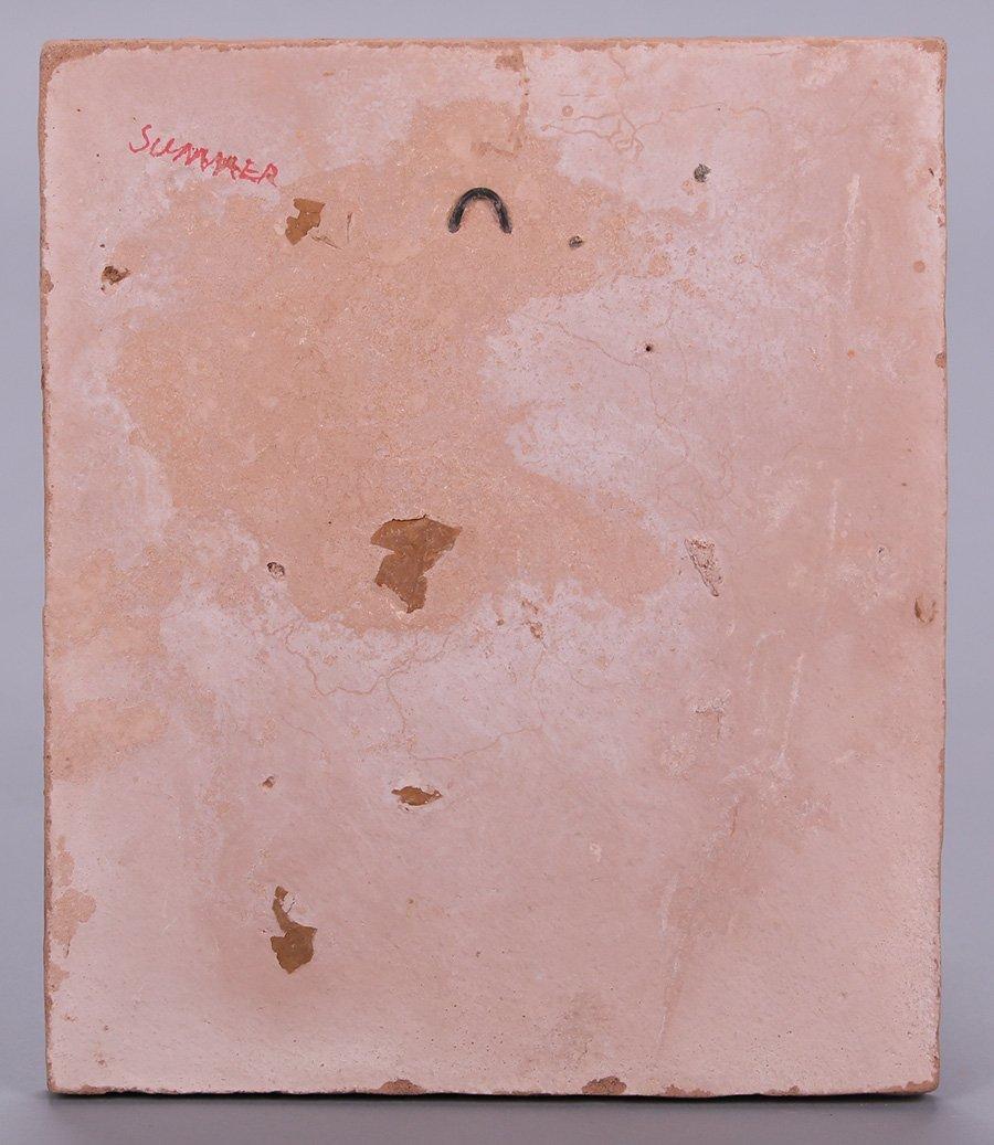 "Modernist Clay Tile ""Summer"" - 3"