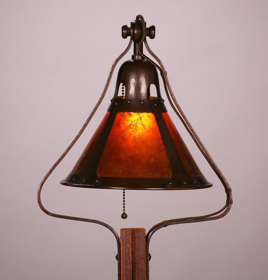 Contemporary Michael Adams Gustav Stickley Floor Lamp - 3
