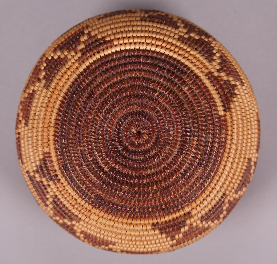 Native American Maidu Indian Basket c1920s - 2