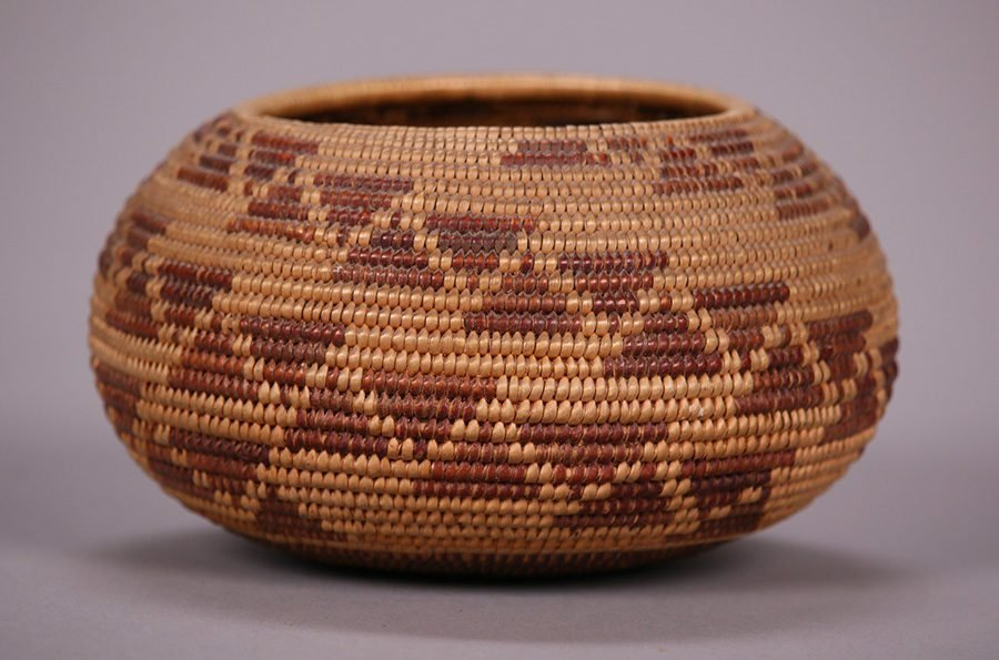 Native American Maidu Indian Basket c1920s - 3