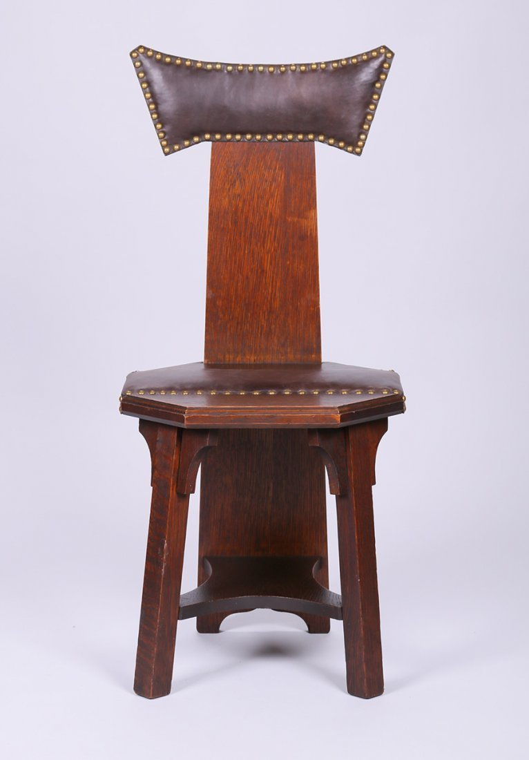 Barber Brothers Hall Chair