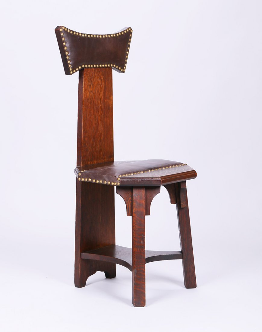 Barber Brothers Hall Chair - 2