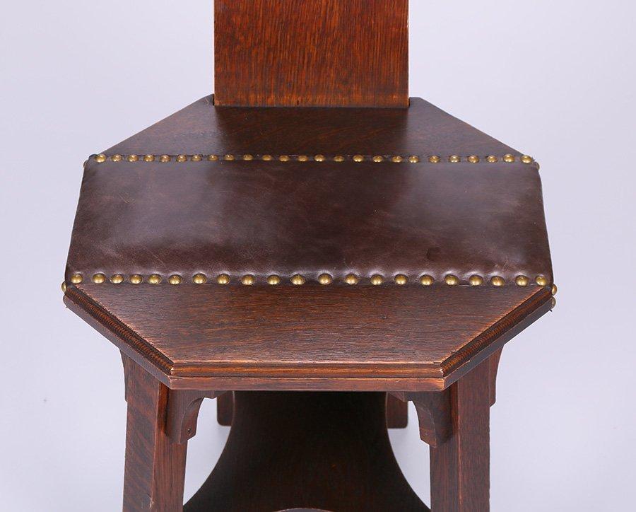 Barber Brothers Hall Chair - 3