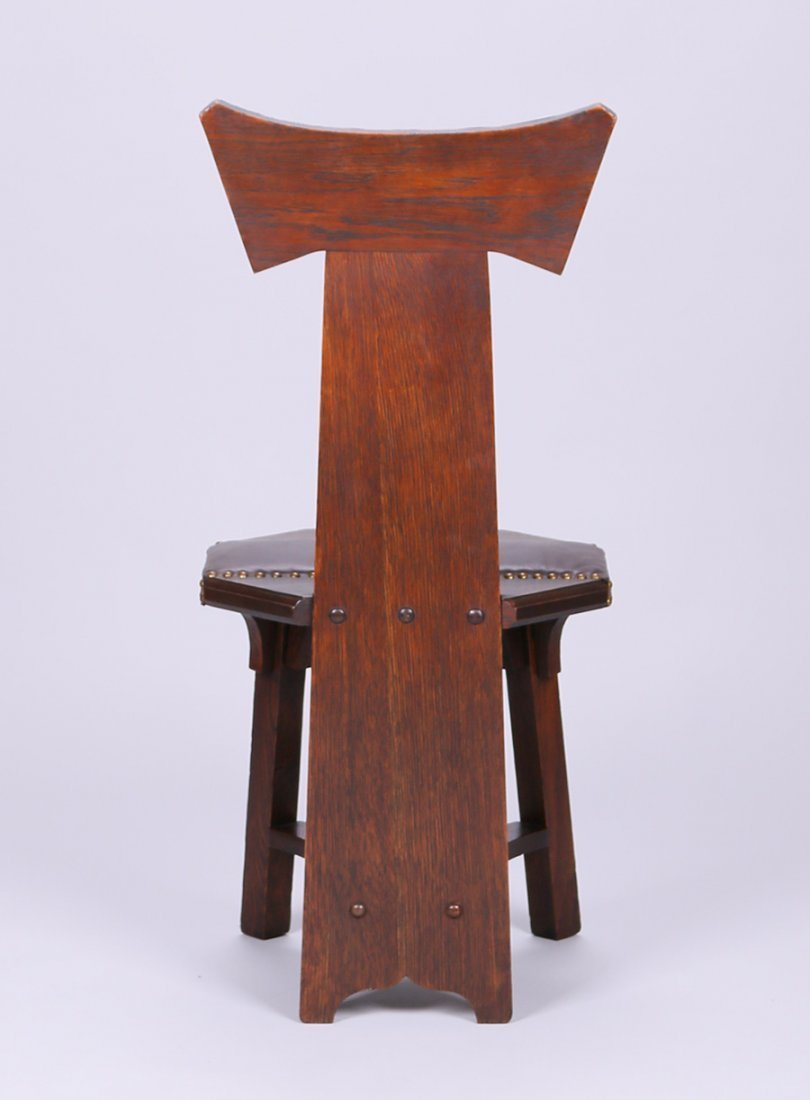Barber Brothers Hall Chair - 4