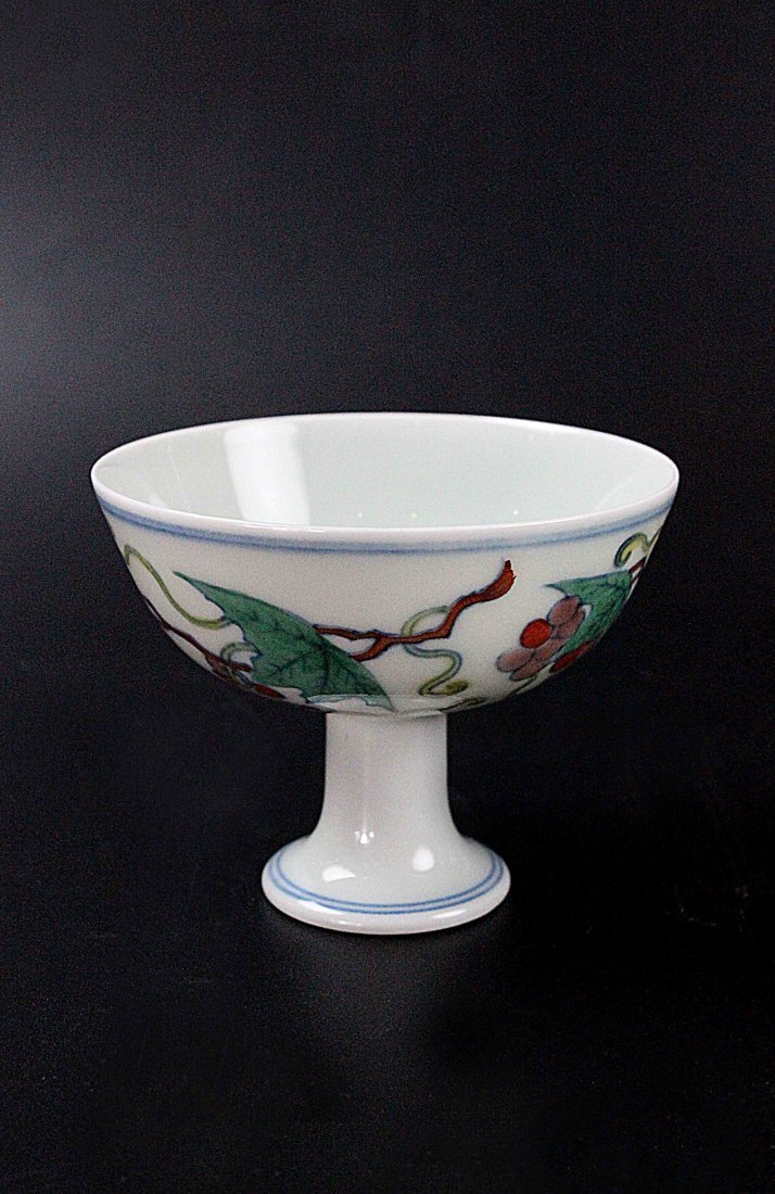 Chinese DouCai Stem Cup