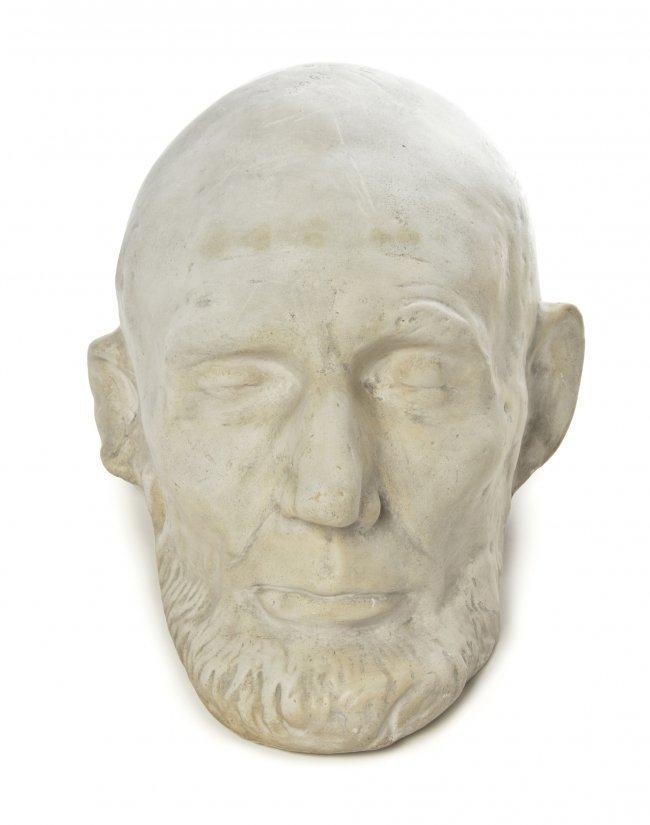 Rare Abraham Lincoln Clark Mills 1865 Plaster Cast