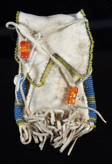 Early Plains Indian Medicine Pouch - 2