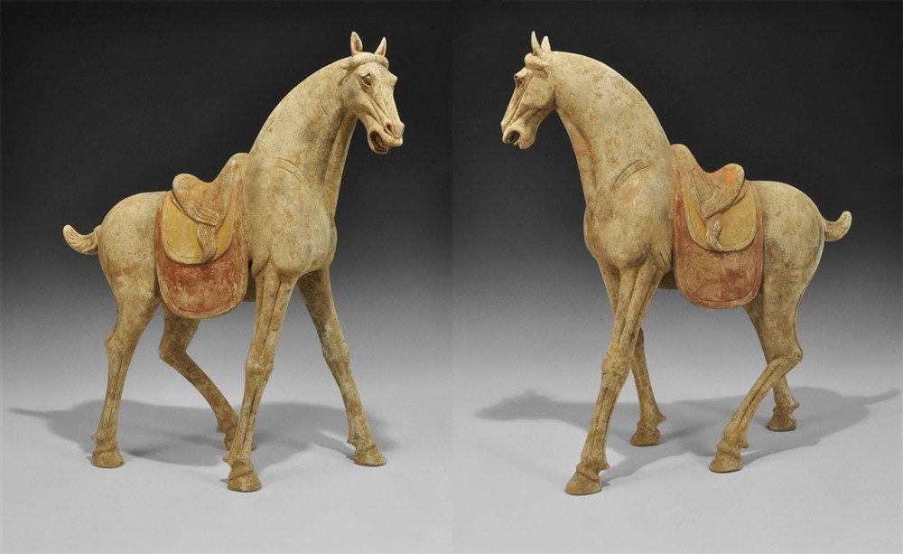 World Class Tang Dynasty Horse w/ Oxford T.L.