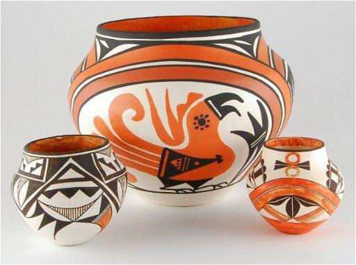 Acoma pottery Loretta Joe, Dolores Aragon, Rose Chino - May 16 ...