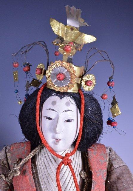 Edo period Japanese boys day Samurai Dolls - 2