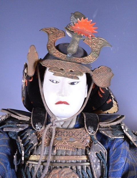 Edo period Japanese boys day Samurai Dolls - 3