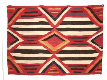 Navajo Third Phase Chief Blanket c. 1880