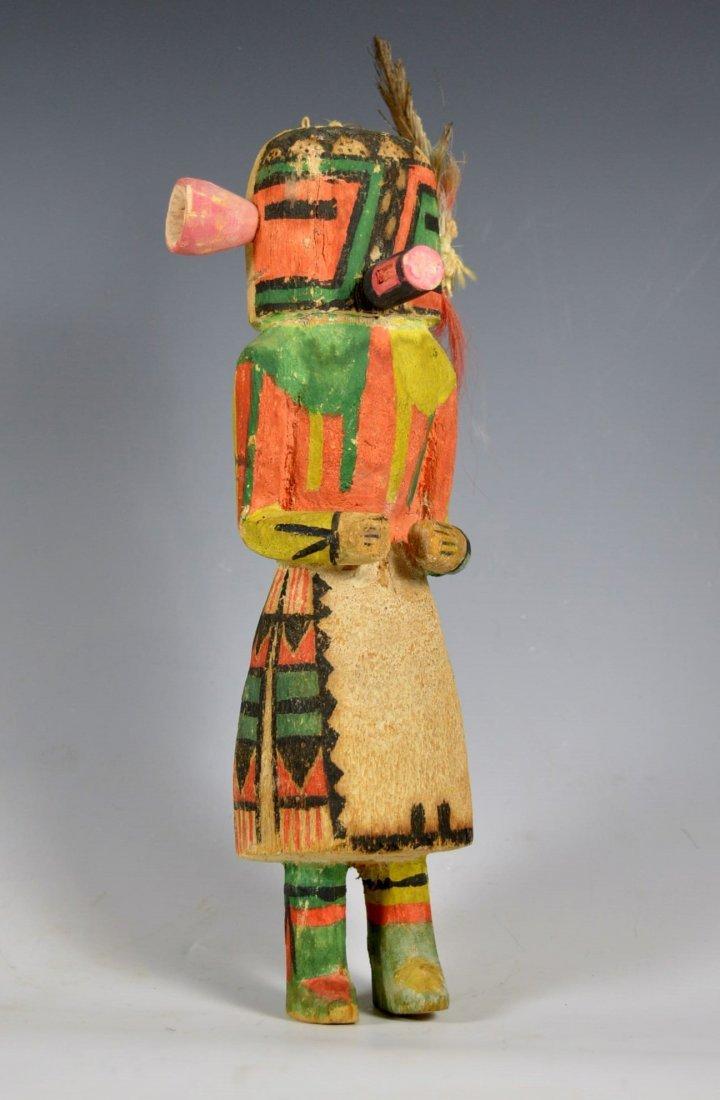 """Hopi """"Malo"""" Kachina / Katsina Doll, 1920's to 30's"""