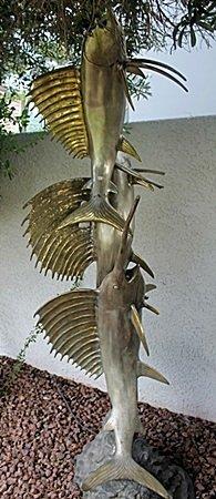 """""""Swordfish"""" Bronze Recast Sculpture After Montenez"""