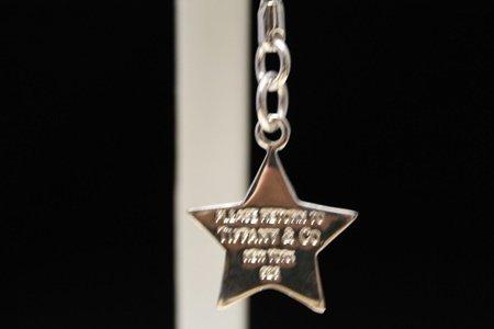 Stunning T & Co. Star Silver Keychain (4C)