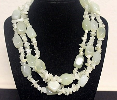 Fancy Jade Necklace (15ZF)