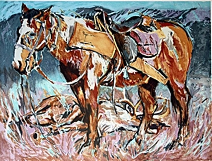 Hunter Horse by Everett Hibbord