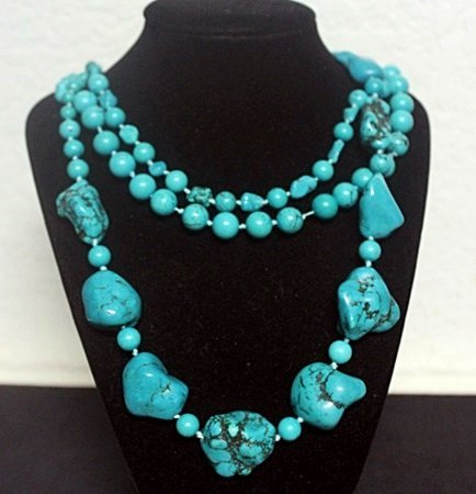 Lady's Fancy Turquoise Necklace (4ZF)
