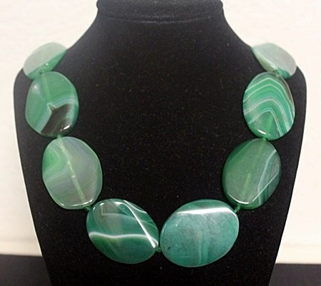 Beautiful Jade Necklace (5ZF)