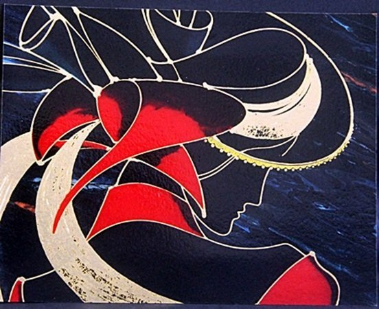 "Beautiful Prints ""Satin Profile"", By Martiros"