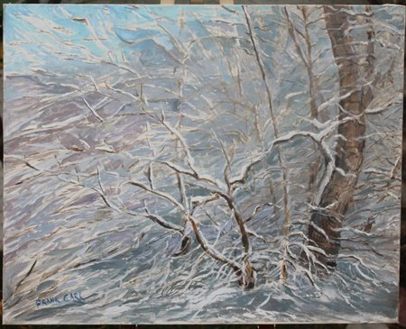 Original Acrylic Painting By FRANK CARR