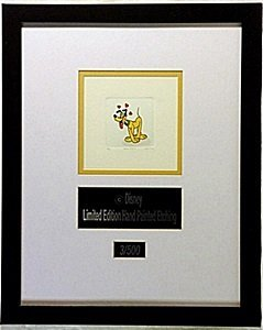 Licensed Disney Etchings   Pluto