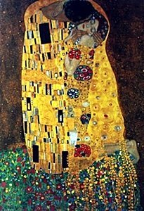 "Giclee ""Adam & Eve"" after Gustav Klimt"
