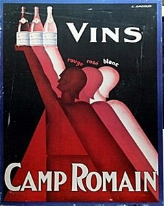 "Giclee ""Camp Romain""  (78C)"