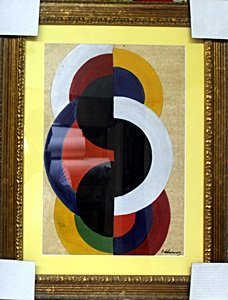 The Discs No 8 - Oil Painting by Robert Delaunay