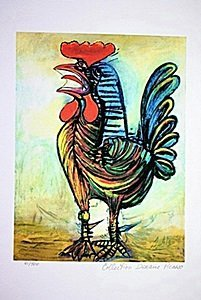 Picasso Limited Edition - Le Coq - from Collection