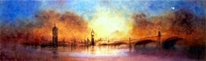 "Giclee ""Westminister Bridge"" after Terry Donnelly"