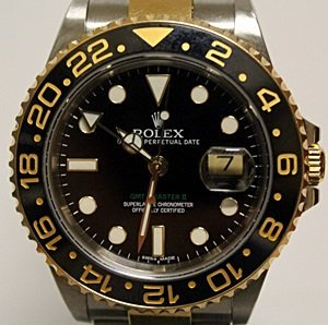 TWO-TONE GMT ROLEX WRIST WATCH - 3