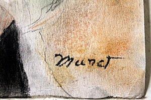 Pastel Drawing on Paper - Edouard Monet - 2