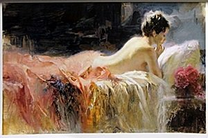 Giclee on Paper After  Pino Daeni