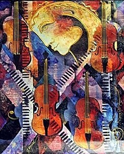 """""""Violins of Mozart"""" by Gaylord Soli"""