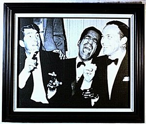 Giclee  on Canvas of the RAT PACK